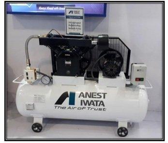 Oil lubricated compressor
