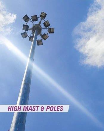 High Mast & Poles